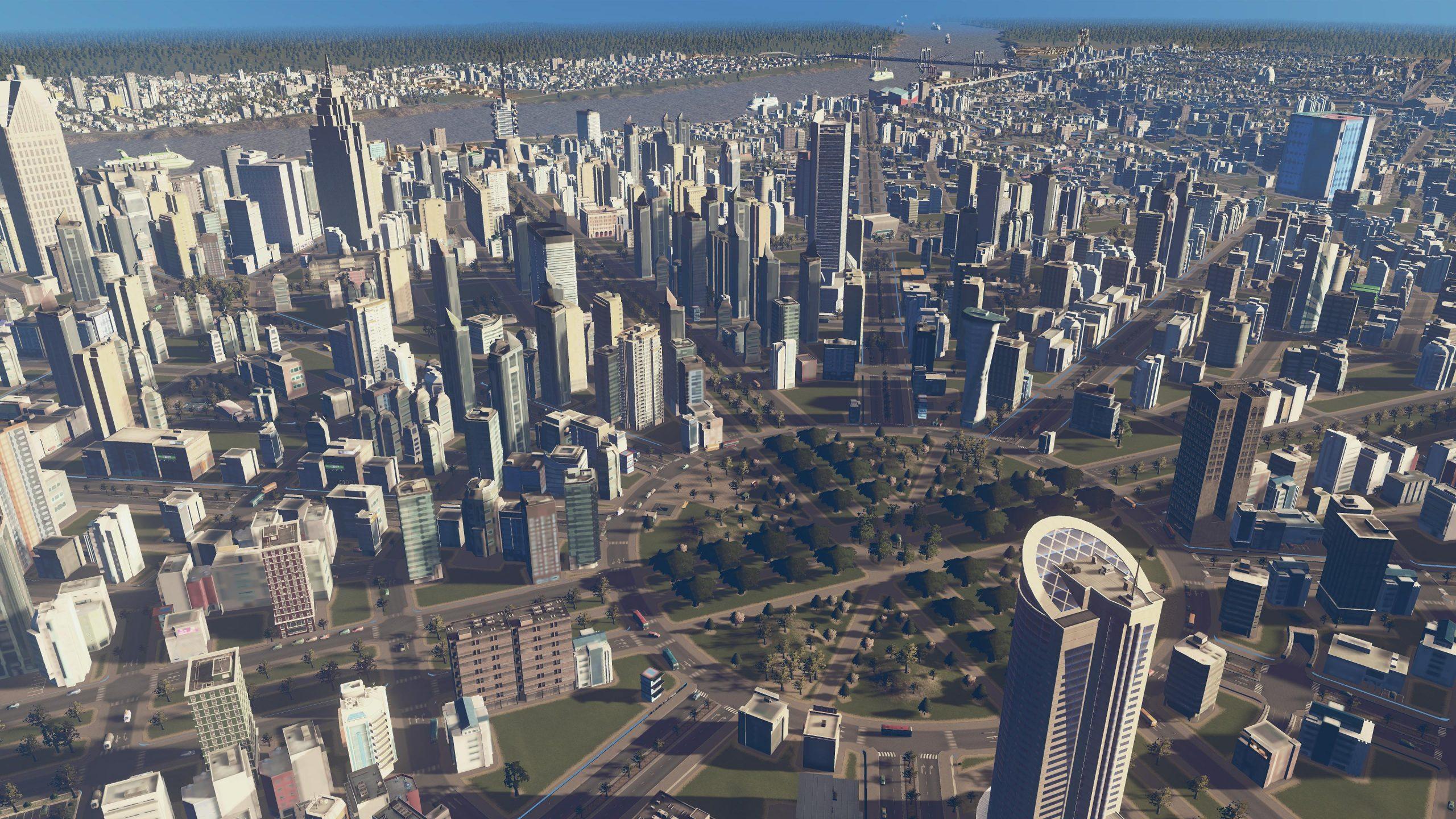 Cities: Skylines é o primeiro jogo disponibilizado pela loja.