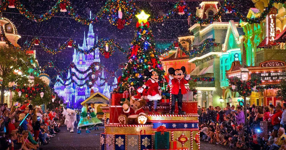 Como é comemorado o Natal na Disney