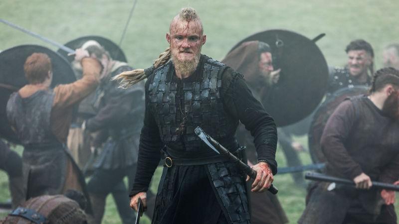 Os últimos episódios de Vikings estreiam hoje na Fox Premium 2 e na Netflix.