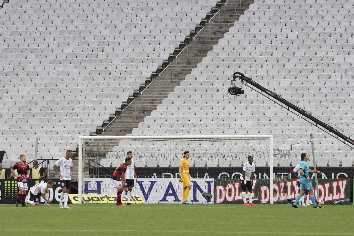O desempenho de Palmeiras, São Paulo e Corinthians sem torcida em 2020