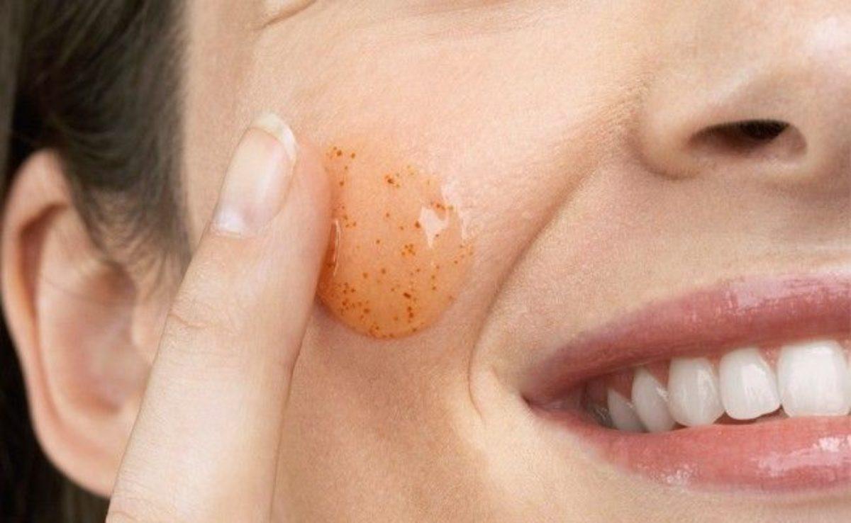 esfoliação de pele seca