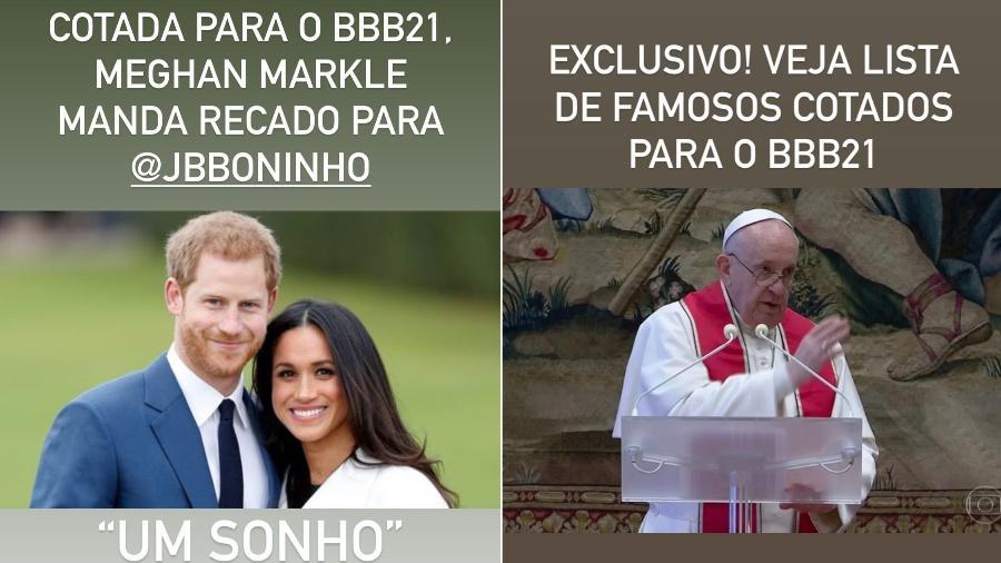 Tiago Leifert brinca com supostos participantes do BBB21 em suas redes sociais.