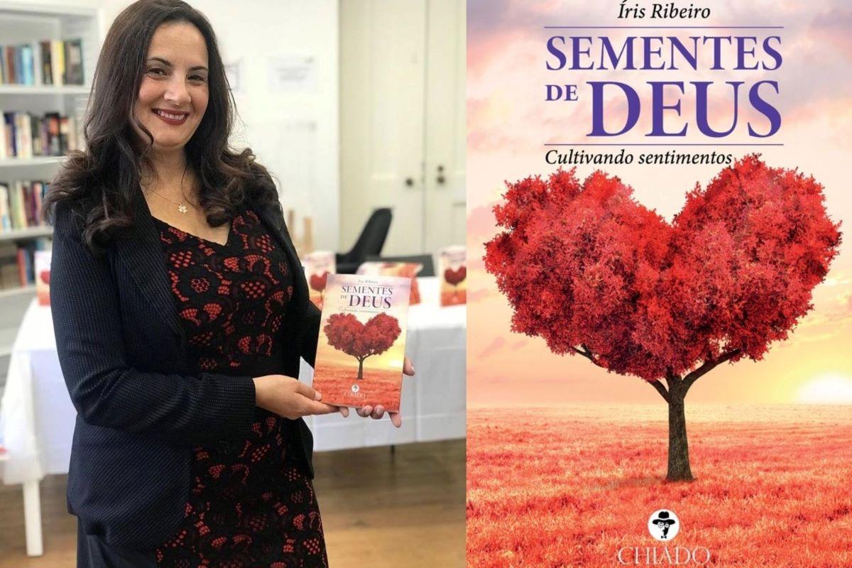 """Íris Ribeiro fala sobre a publicação de seu livro """"Sementes de Deus"""""""