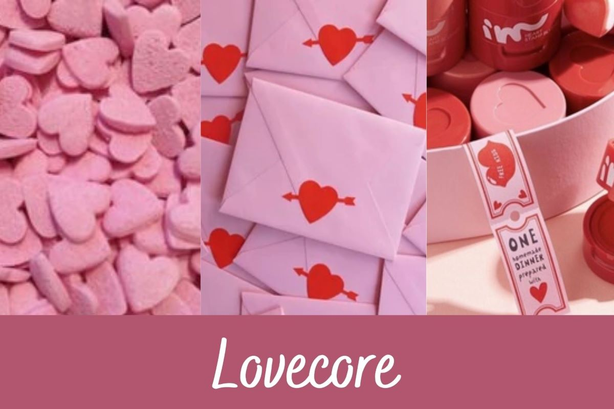 Lovecore aesthetic: entenda o que a tendência representa