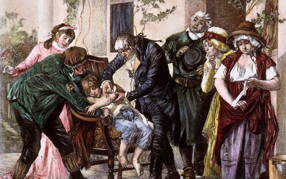 Edward Jenner é o responsavel pela invenção da vacina da varíola.