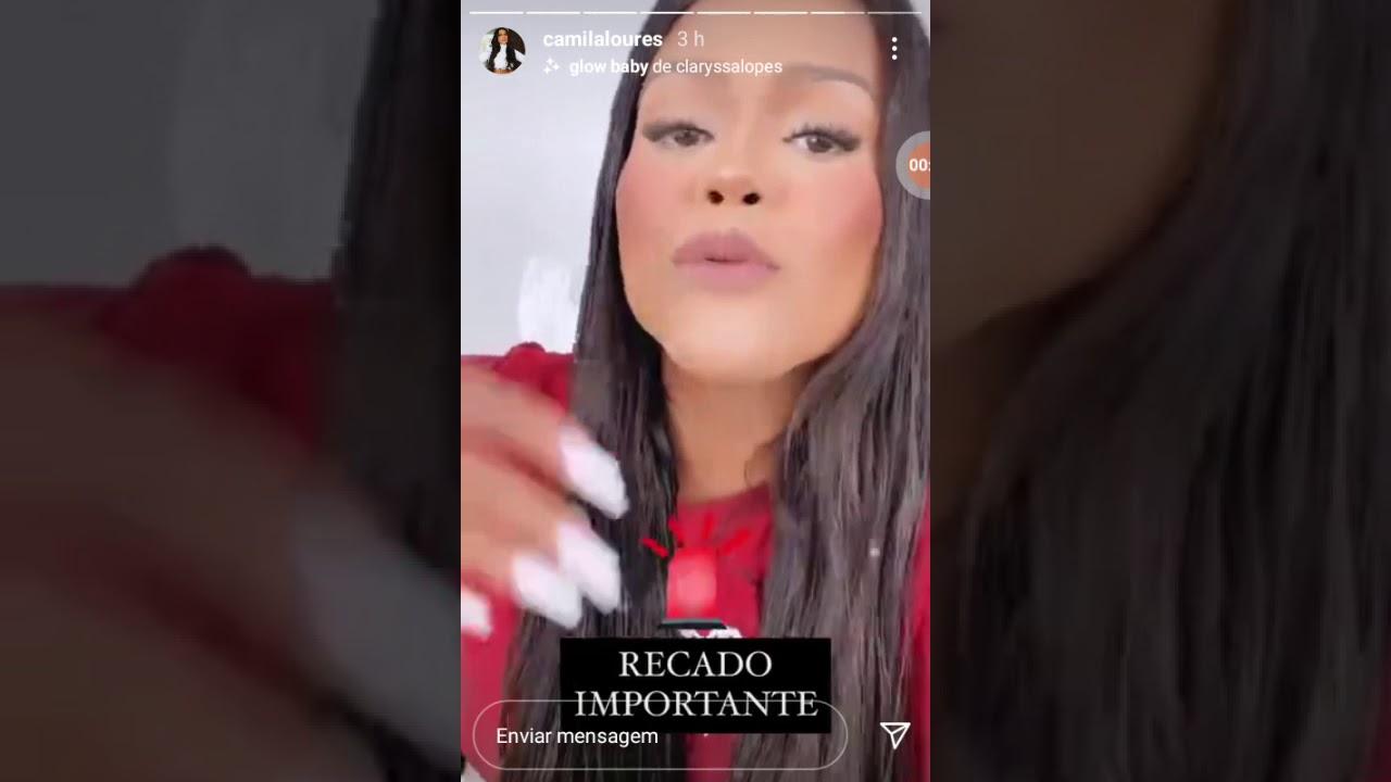 Camila Loures publicou em seu Instagram que fará parte de um projeto.