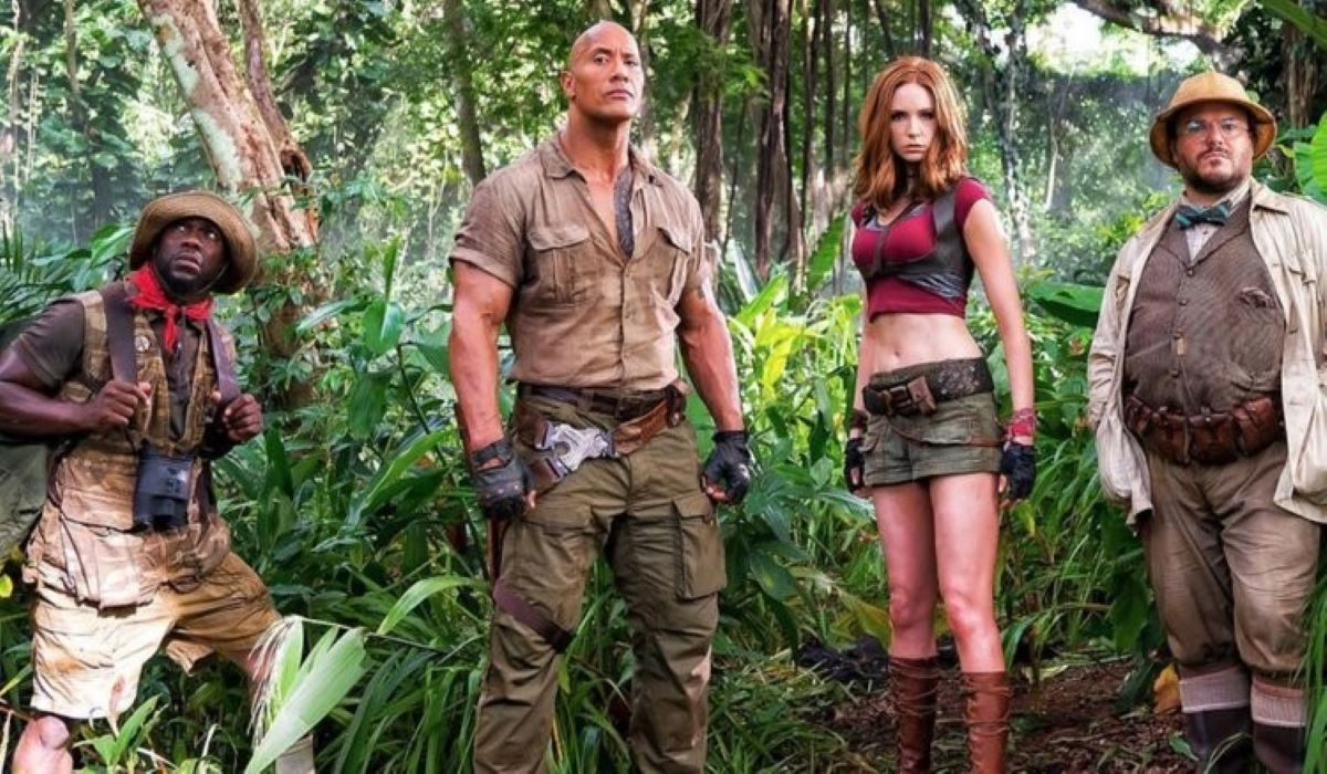 'Jumanji: Bem-vindo à Selva', com Dwayne Johnson, é sucesso na Netflix