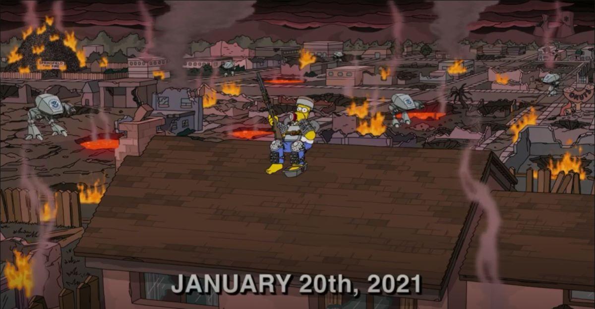 'Os Simpsons' previram guerra em 2021: veja por que se preocupar