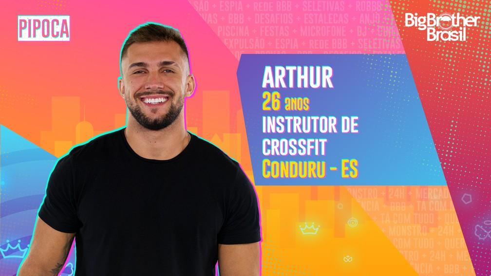 Arthur Picoli -  instrutor de Crossfit
