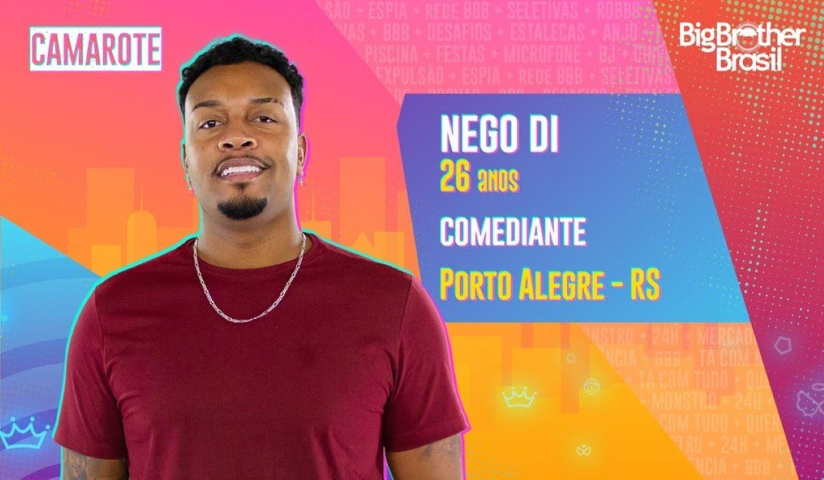 BBB21: Em live antes do reality, Nego Di faz ataques machistas