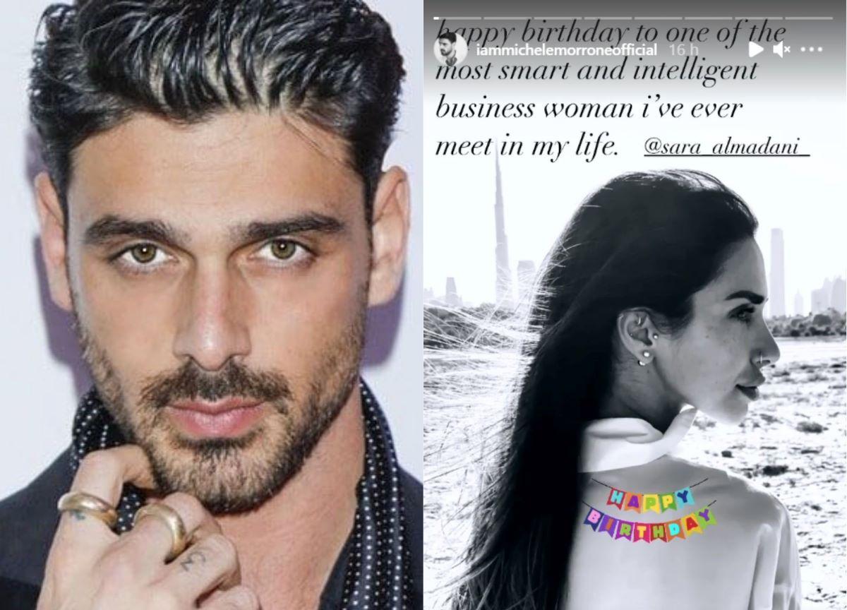 Michele Morrone faz declaração a Sara Al Madani, sua suposta namorada