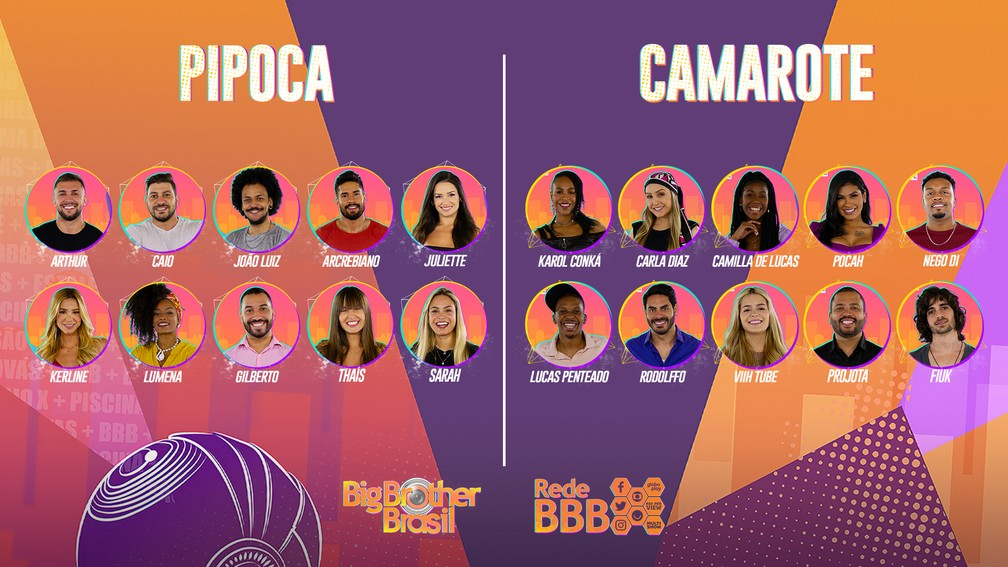 O elenco do BBB21já foi divulgado e famosos já declararam sua torcida.