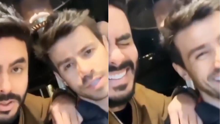 Mariano postou um vídeo em seu Instagram para parabenizar Rodolffo pelo BBB21.