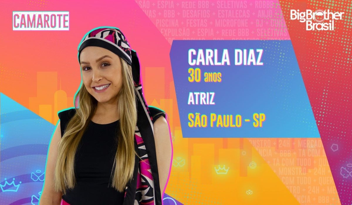 BBB21: Carla Diaz revela que descobriu câncer antes do confinamento