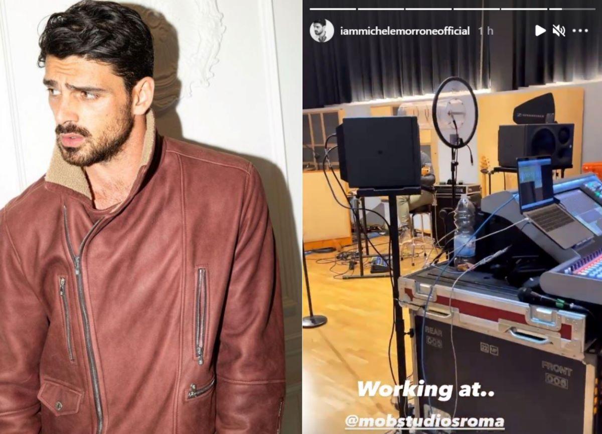 Michele Morrone posta foto em estúdio e fãs esperam segundo álbum