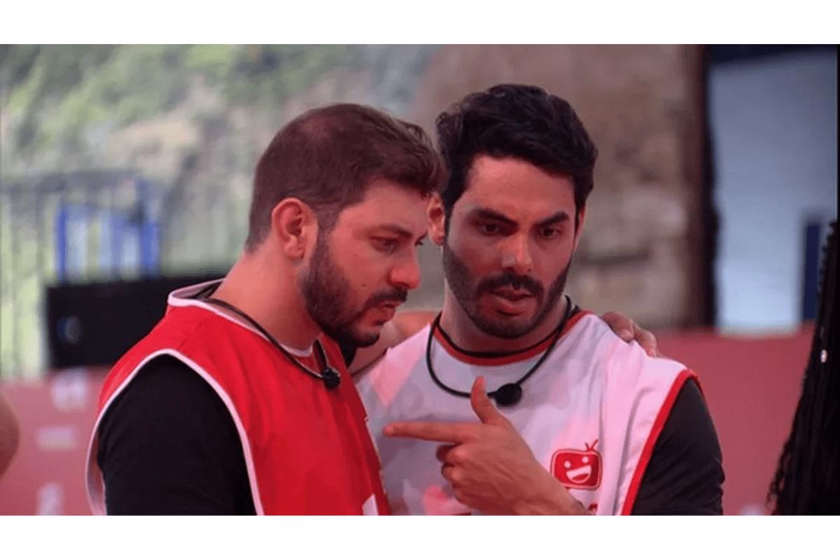 BBB21: Rodolffo e Caio conversam sobre indicações para o paredão