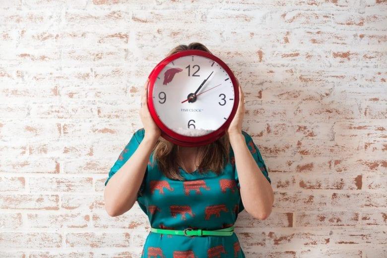 como não se atrasar