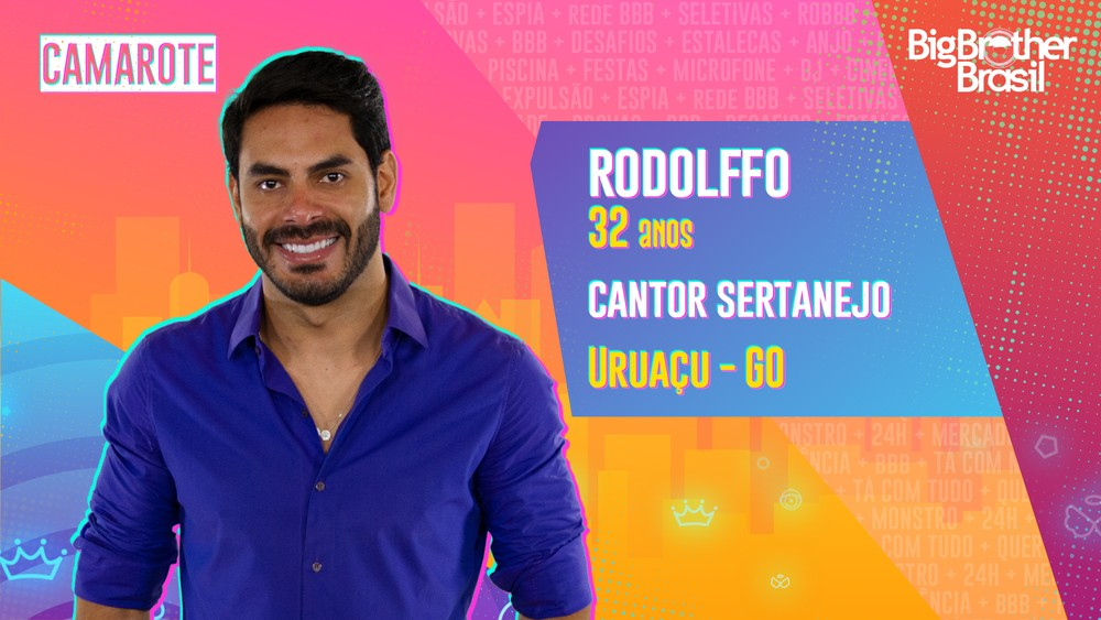 Rodolffo foi o primeiro participante eliminado do BBB21.