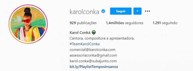 Karol Conká perdeu seguidores, enquanto Juliette ganhou novos.