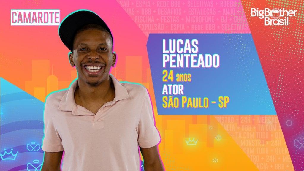 Lucas Penteado é participante do BBB21 e possuí um histórico de lutas e ocupações.