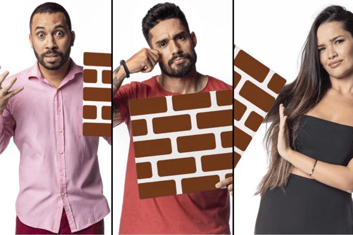 BBB21: Gilberto, Juliette e Arcrebiano compõem 2ª paredão do reality
