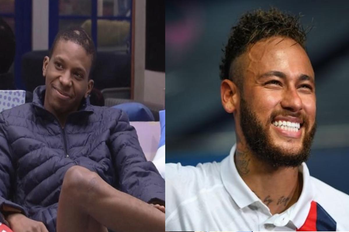 Neymar doou 1,5 milhão de reais para Lucas Penteado, ex-participante do BBB21.