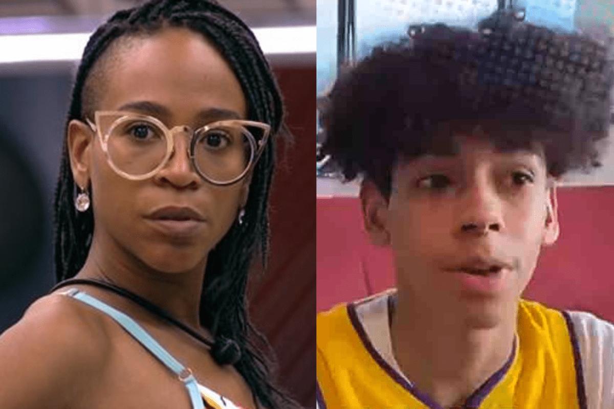 BBB21: Filho de Karol Conká desabafa sobre mensagens de ódio