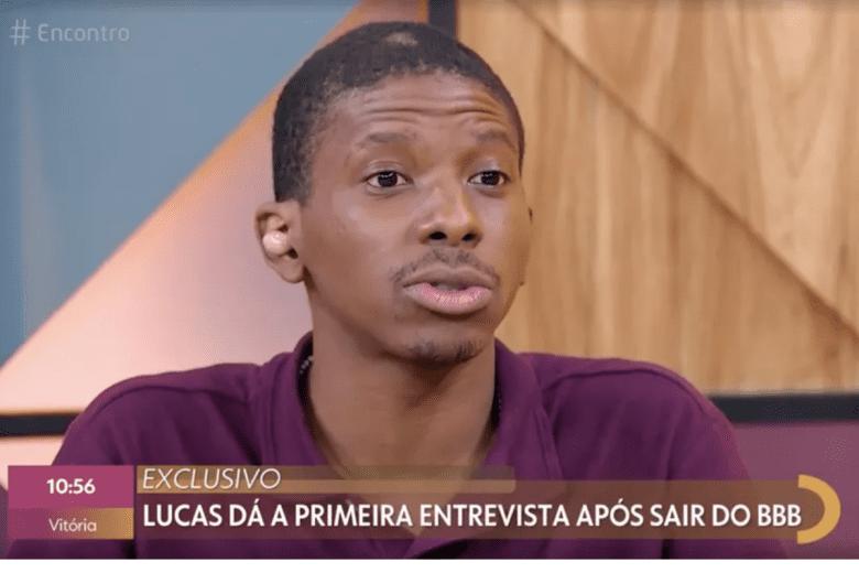 Lucas Penteada vai ao programa Encontro, com Fátima Bernardes