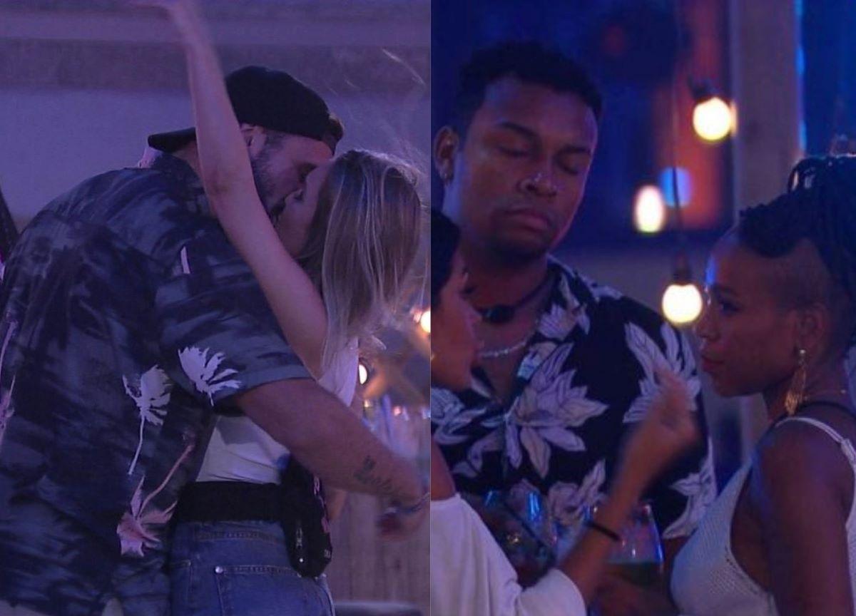 BBB21: Carla e Arthur se beijam e farpas em Karol Conká marcam festa