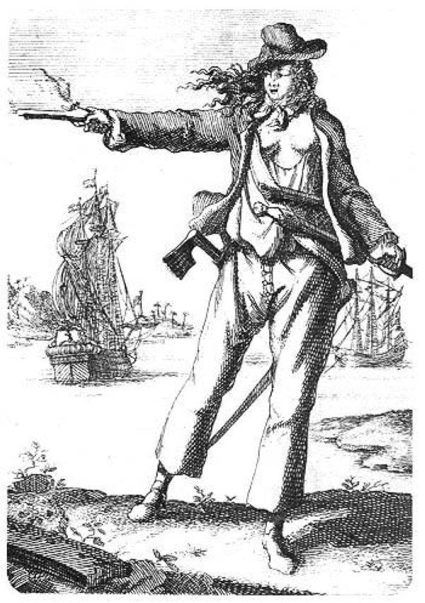 piratas mulheres