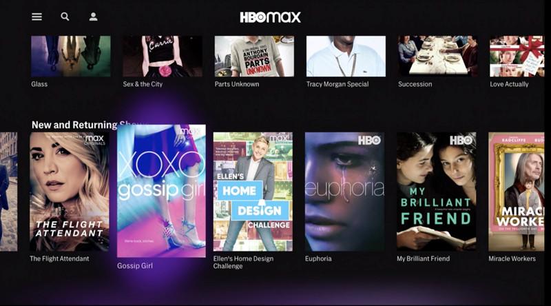 A HBO Max investe em um catálogo mais variado e completo do que a HBO Go.