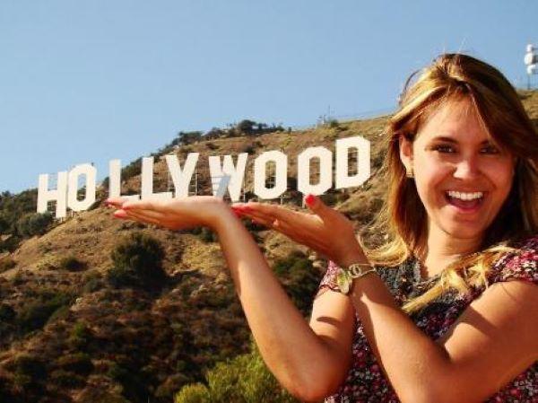 Sarah foi para Los Angeles, Estados Unidos, aos 19 anos de idade.