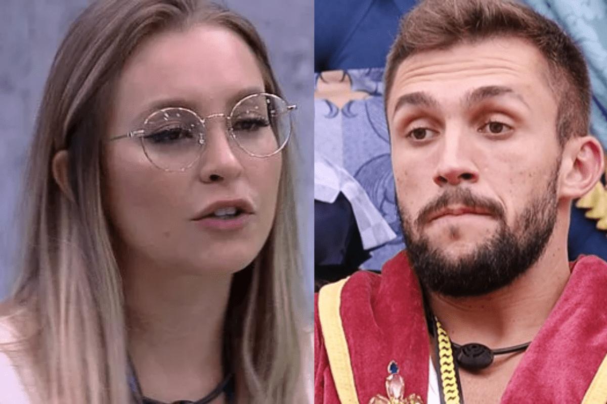 BBB21: Após Karol Conká ganhar prova do líder, Arthur e Carla brigam