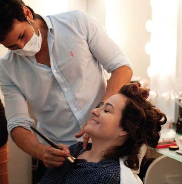 higienização de maquiagens
