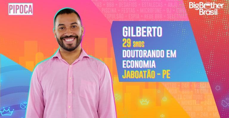 Gilberto Nogueira é o participante Pipoca favorito do BBB21.