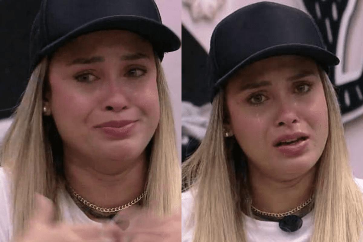 """BBB21: Sarah chora e desabafa sobre Lumena """"Preconceito ao contrário"""""""