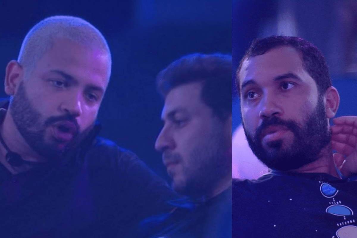 BBB21: Projota e Caio acreditam que Gilberto irá se queimar no jogo