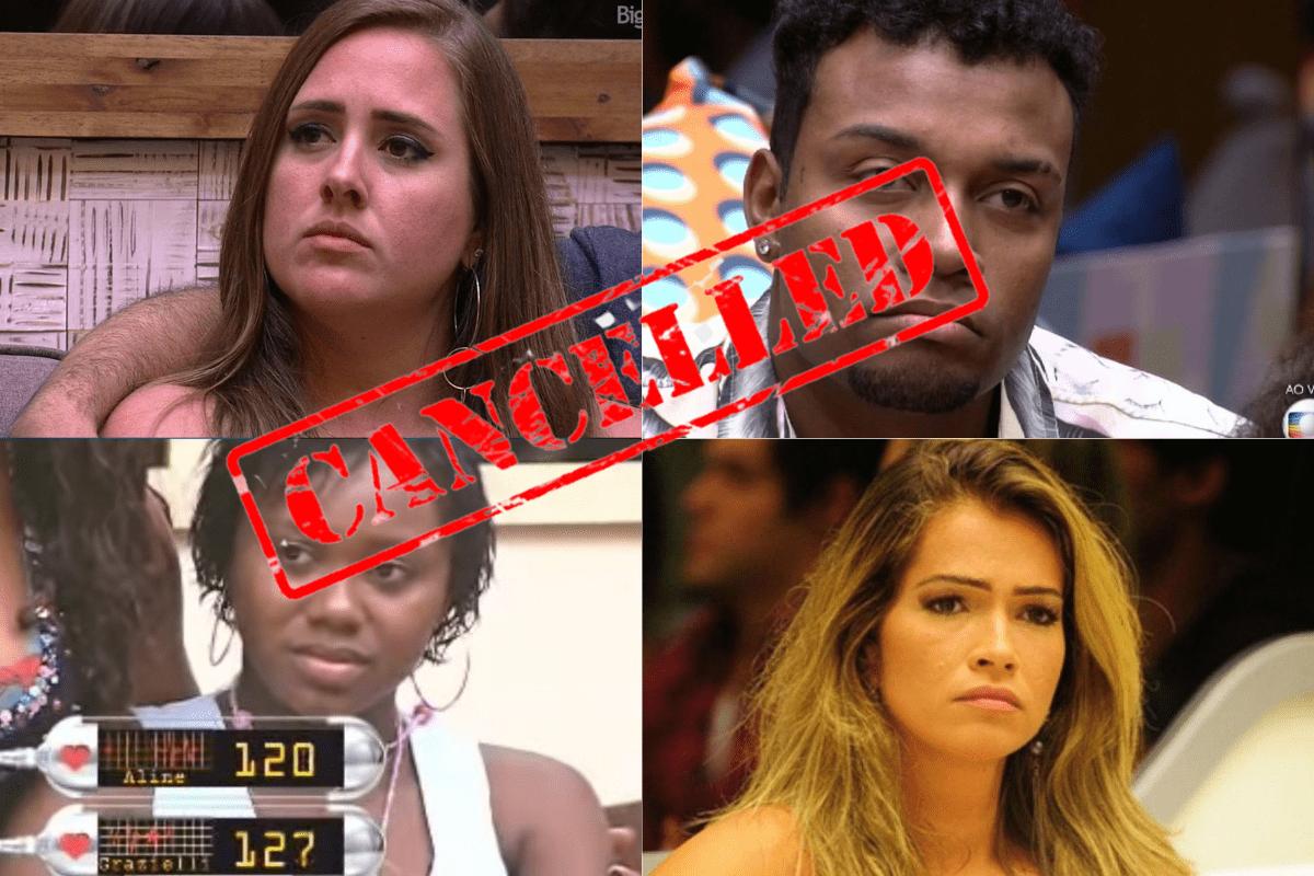 Rejeição BBB: Confira as maiores rejeições na história do reality show