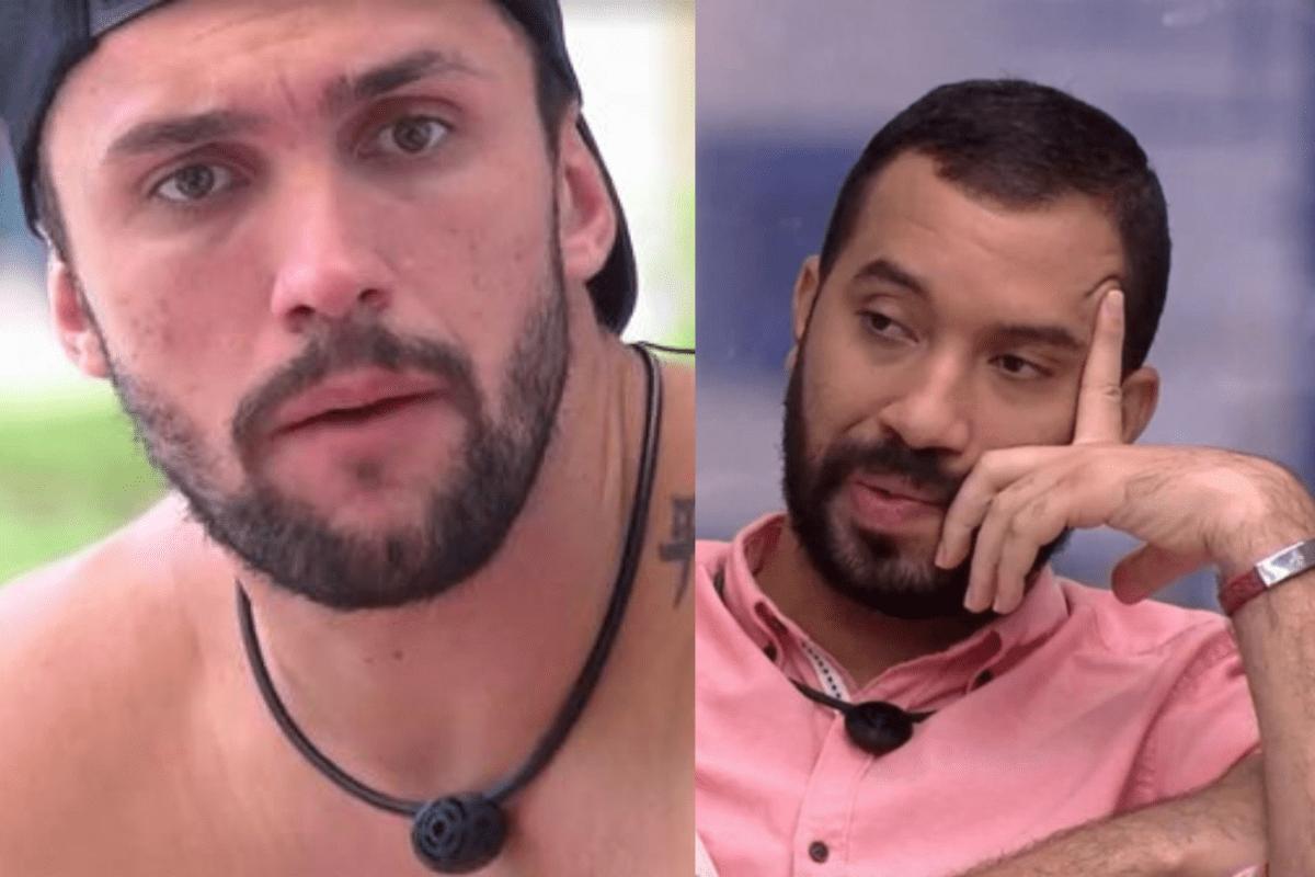"""BBB21: Nervoso, Gilberto fala sobre Arthur: """"Um falso, um fuleiro"""""""