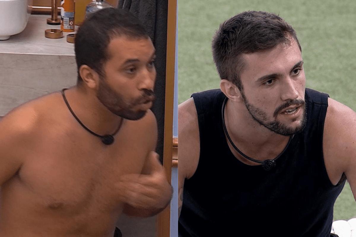 """BBB21: Gilberto se irrita com Arthur e dispara """"Não vou mais falar com ele"""""""