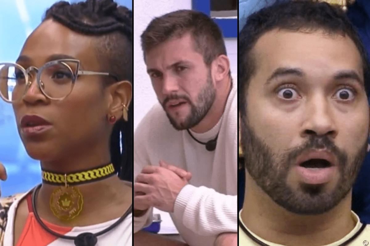 BBB21: Karol Conká, Arthur e Gilberto compõem paredão da semana