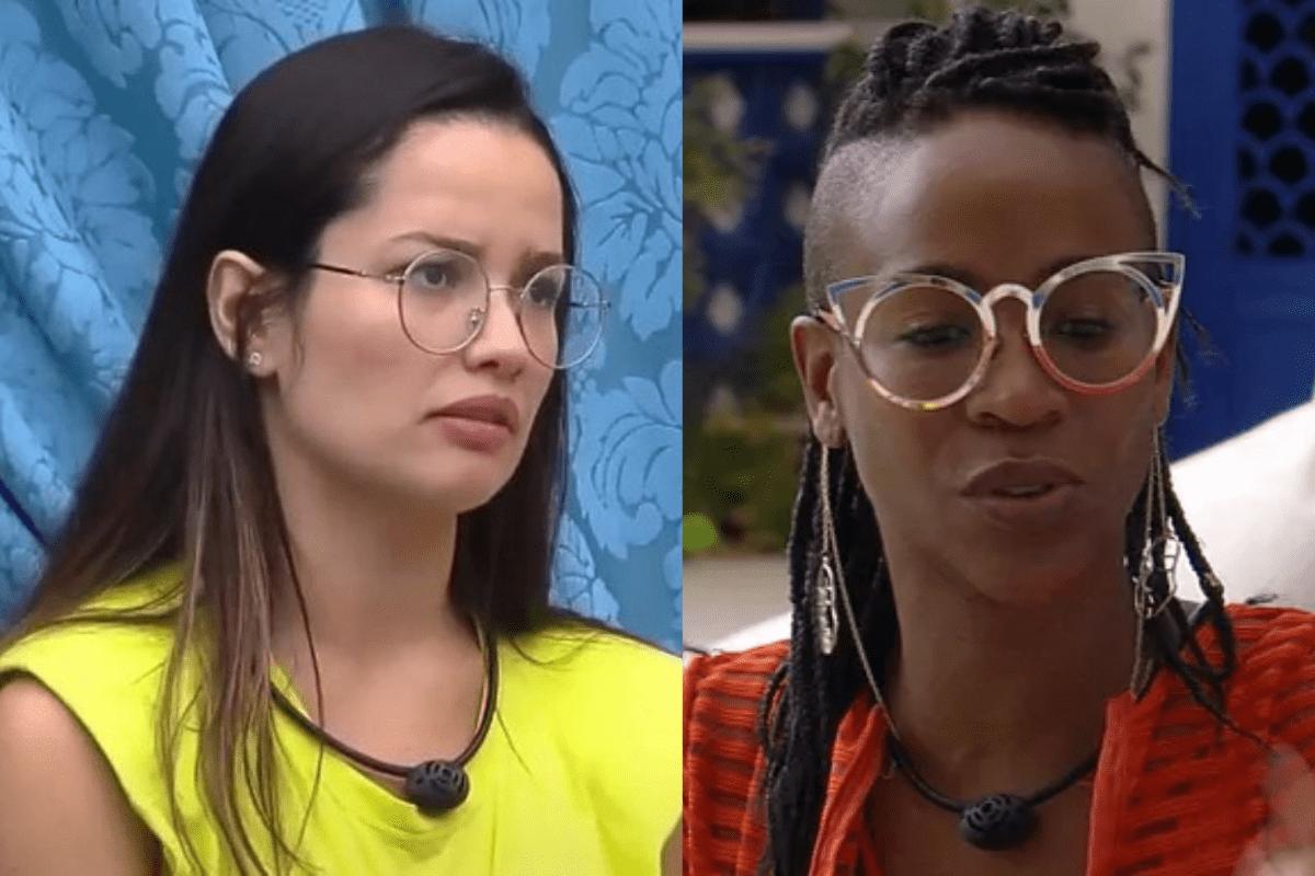 """BBB21: Juliette conversa com Karol Conká: """"Me incomoda"""""""