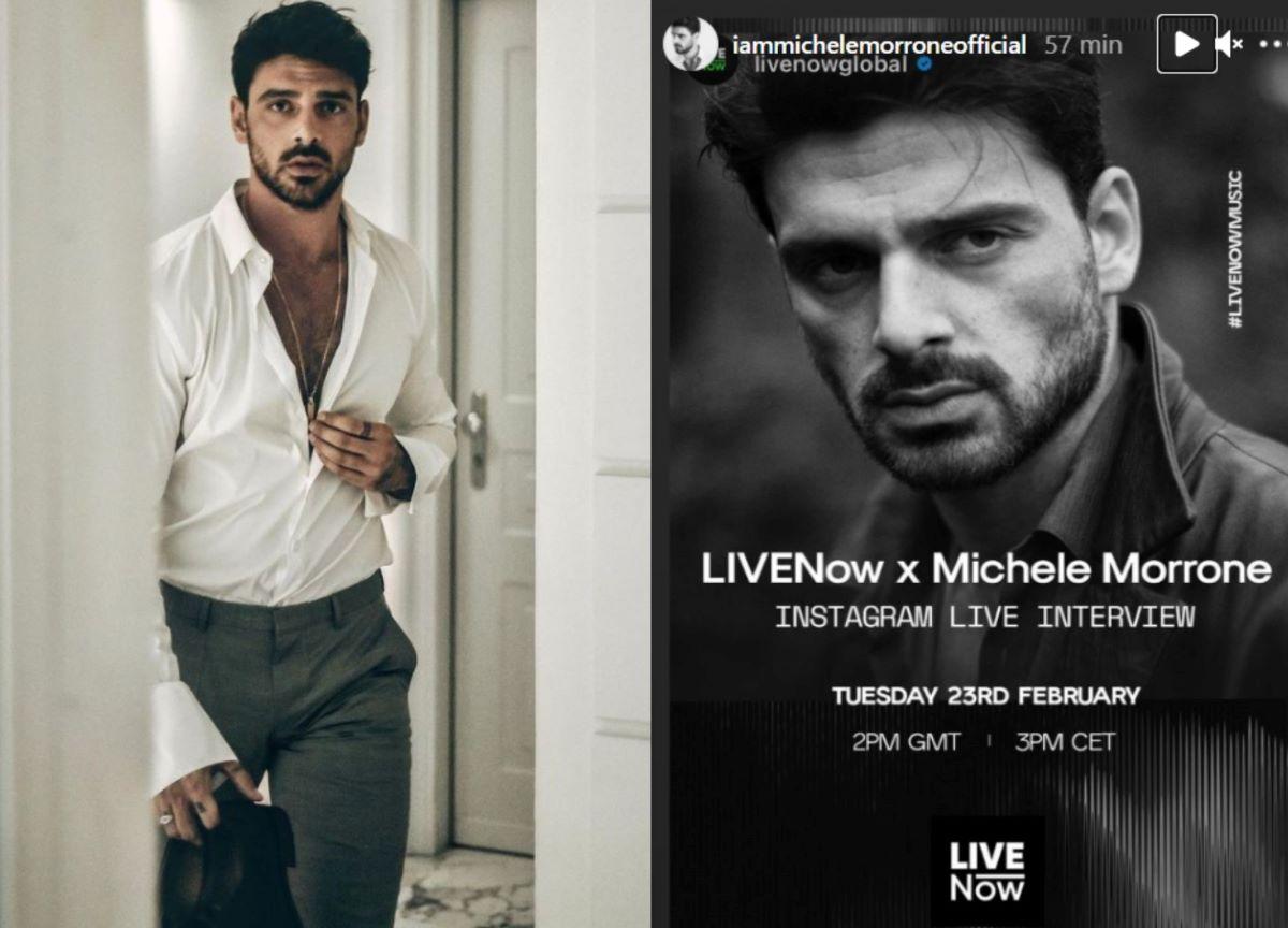 Michele Morrone, de '365 Dni', fará uma live no Instagram amanhã
