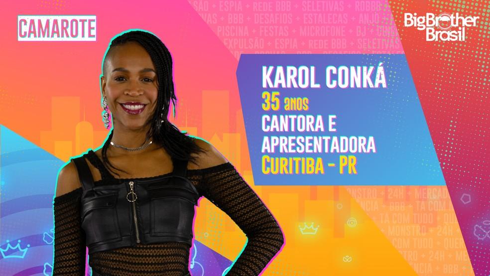 Karol Conká é a quarta participante eliminada do BBB21.