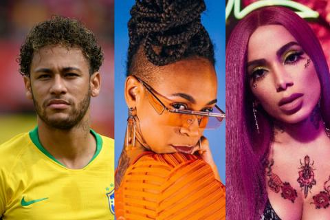 Neymar e Anitta falam sobre Karol Conká