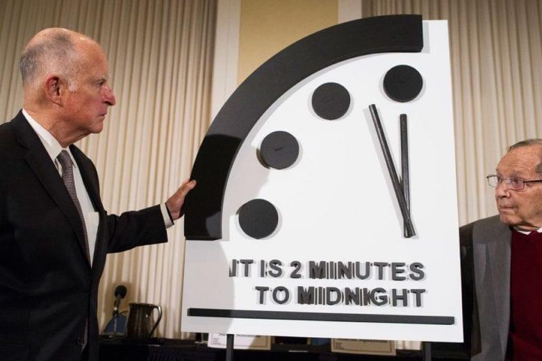 relógio do apocalipse