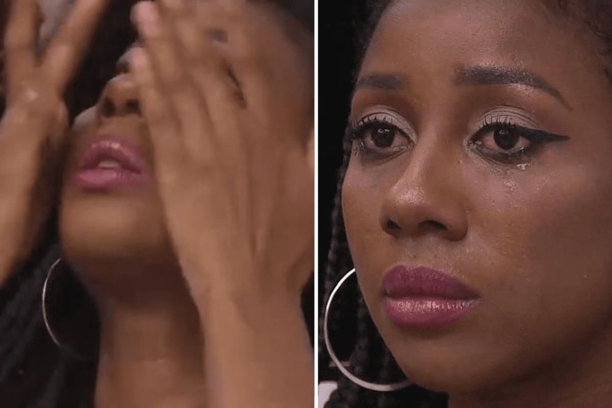 "BBB21: Camilla chora e desabafa: ""Acaba com toda a minha identidade"""