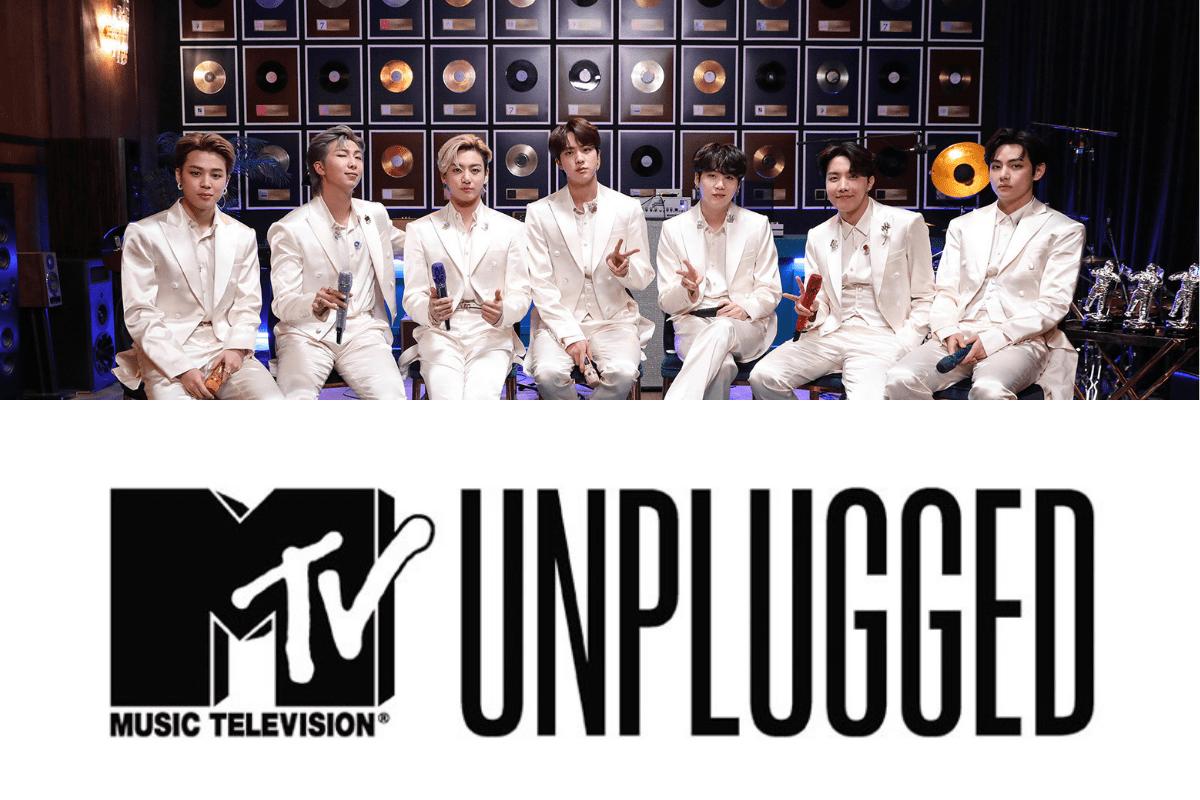BTS faz sua estreia mundial no MTV Unplugged hoje, terça-feira (23)