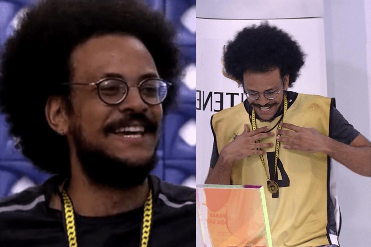 BBB21: João Luiz vence prova e é o novo líder da semana