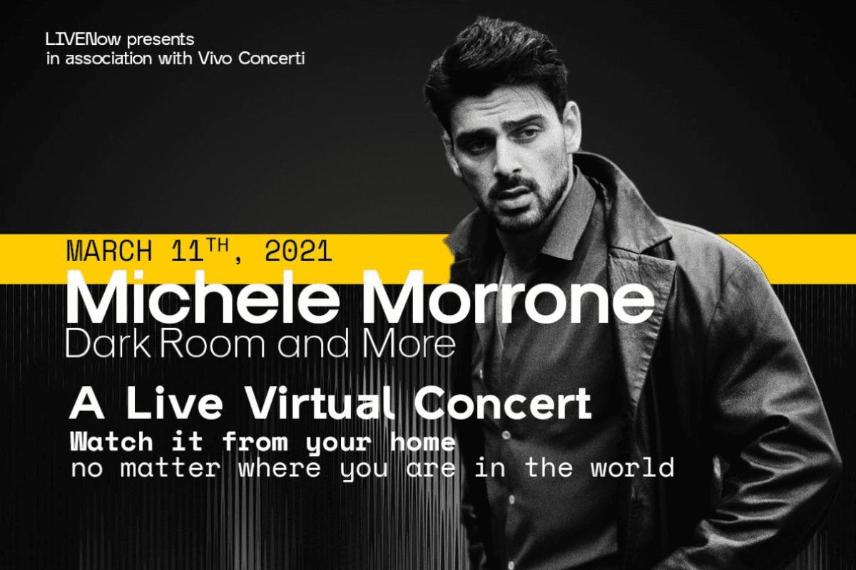 Michele Morrone revela como se sente antes de seu show ao vivo
